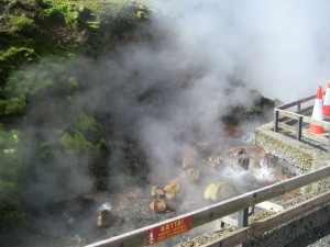 They aren't kidding when they call them hot springs!