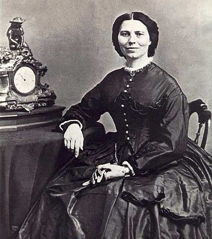 Clara Barton, ca. 1866