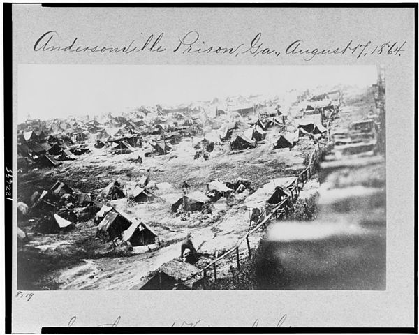 Clara Barton helped identify gravfes at Andersonville Prison