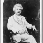 Mark Twain ca 1907 Looking the way we all picture him