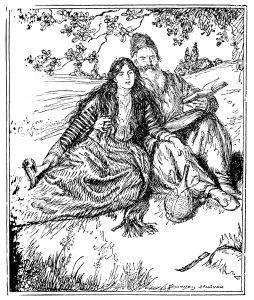 Edmund_J_Sullivan_Illustrations_to_The_Rubaiyat_of_Omar_Khayyam_First_Version_Quatrain-011