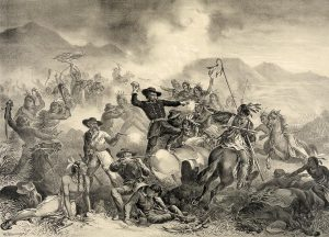 William Cary's Death Struggle of General Custer appeared on July 19, 1876