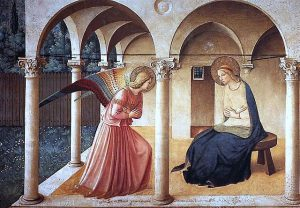Fra angelico. Annunciation. San marco